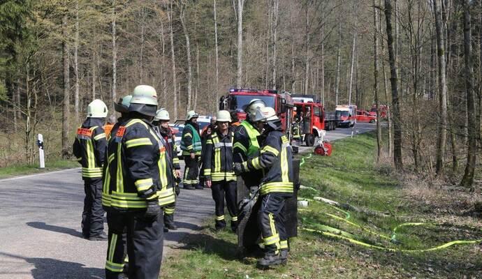 Unfall Königsbach-Stein Heute